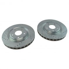 06-09 XLR; 05-13 Corvette Front Performance Brake Rotor Pair