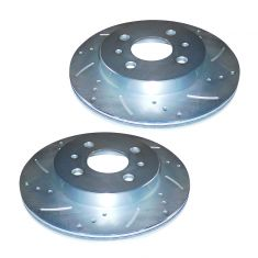 1991-02 Saturn SC SL SW Performance Brake Rotor Front Pair