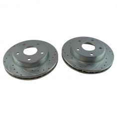 05-11 Dakota Front Performance Brake Rotor Pair
