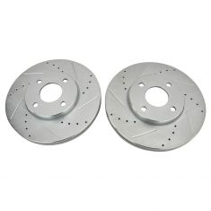 05-07 Ford Focus Front Performance Brake Rotor Pair