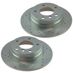 92-99 BMW Performance Brake Rear Rotor Pair