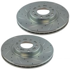 04-11 Mazda 3 2.3L, 2.5L; 06-10 Mazda 5 Front Performance Brake Rotor Pair