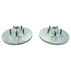 97-99 Ford F150 Truck Front Performance Brake Rotor Pair