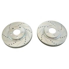 03-04 Infiniti M45; 02-06 Q45; 04-09 Nissan Quest Front Performance Brake Rotor