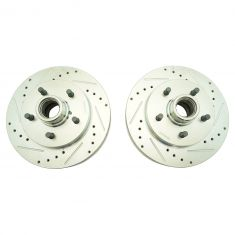 89-99 Chevy C1500 Front Performance Brake Rotor Pair