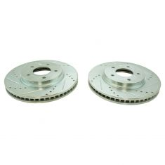 07-09 Equinox, Torrent; 08-09 Vue; 07-09 XL-7 Front Performance Brake Rotor Pair