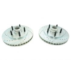 00 (from 12/99)-02 Expedition, Navigator w/2WD Front Performance Brake Rotor Pai