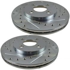 84-85 Dodge Caravan Performance Front Brake Rotor Pair