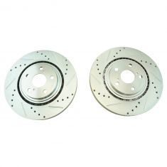 08-15 Toyota Lexus Front Performance Brake Rotor Pair
