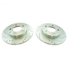 93-97 Probe, 626, MX-6; 01-03 Protg, 5 Rear Performance Brake Rotor Pair