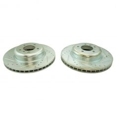 04-10 BMW 5 Series Front Performance Brake Rotor Pair
