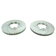 1996-04 Frontier Pathfinder Xterra Front Performance Brake Rotor Pair