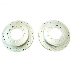 10-16 4Runner, GX460; 10-14 FJ Rear Performance Brake Rotor Pair