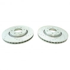 02-09 Buick, Chevy, GMC, Isuzu, Saab Front Performance Brake Rotor Pair