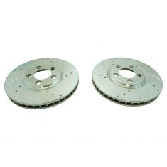 02-05 T-Bird; 00-05 S-Type; 00-06 LS Front D/S Performance Brake Rotor Pair