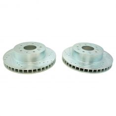 1965-82 Chevy Corvette Front D/S Performance Brake Rotor Pair