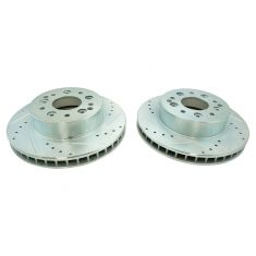 65-82 Chevy Corvette Rear D/S Performance Brake Rotor Pair
