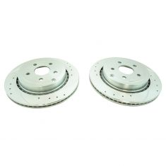 08-09 Pontiac G8 GT; 14 Chevy SS Rear Performance Disc Brake Rotor Pair