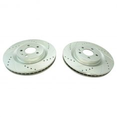 11-14 Mustang GT w/o Brembo Brakes Front Performance Disc Brake Rotor Pair