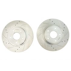 12-16 T&C; 11-17 GC; 12-17 Journey; 12-15 C/V; 12-14 Routan 328mm Rear Performance  Rotor