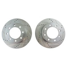 09-16 Ram 2500, 3500; 12 1500 Front Performance Brake Rotor Pair