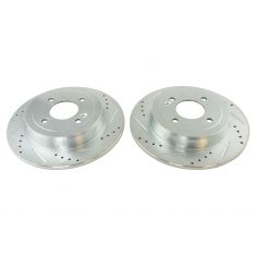 12-16 hyundai Accent, Kia Rio Rear Performance Brake Rotor Set