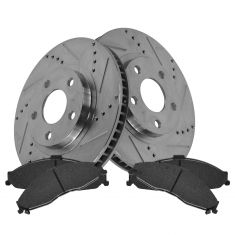 Front Performance Rotor & Posi Ceramic Pad Kit 98-02 Camaro, Firebird