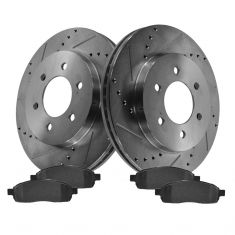Front Performance Rotor & Posi Ceramic Pad Kit 04-08 Ford F150