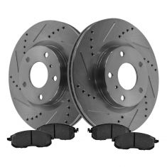 Front Performance Rotor & Posi Ceramic Pad Kit 03-05 350Z; 03-05 G35
