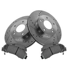 Front Performance Rotor & Posi Ceramic Pad Kit 00-01 Integra, 96-98 RL
