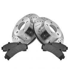 Front Performance Rotor & Posi Metallic Pad Kit 95-01 Explorer; 98-03 Ranger