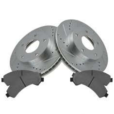 Front Performance Rotor & Posi Metallic Pad Kit 97-05 S10, Blazer, Jimmy 4wd