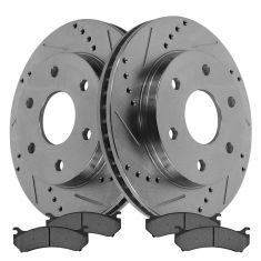Front Performance Rotor & Metallic Pad Kit 99-09 Chevy Truck/SUV