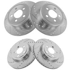 05-13 300; 09-13 Challenger; 06-13 Charger; Front & Rear Performance Disc Brake Rotor