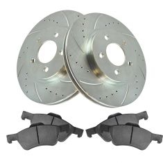 05-11 Escape, Tribute, Mariner Front Performance Brake Rotor & Ceramic Pad Set