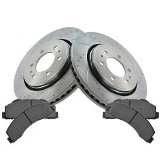 11-12 F150; 10-12 Expedition, Navigator Front Ceramic Brake Pad & Performance Rotor Kit