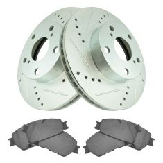 05-11 Tacoma 2wd Front Performance Brake Rotor & Ceramic Pad Kit