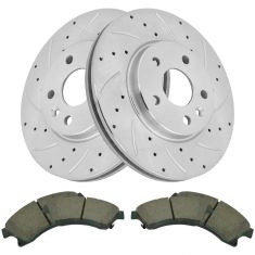 11-15 Cruze Sonic Front Performance Brake Rotor & Ceramic Pad Kit