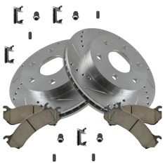 03-08 Express Van Front Performance Brake Rotor & Ceramic Pad Kit