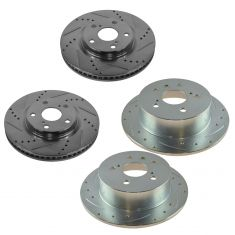 12-15 Camry, ES350, Front & Rear Performance Brake Rotor Set of 4