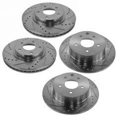 07-12 Nissan Altima Front & Rear Performance Brake Rotor Set