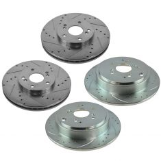 01-08 MDX, Pilot Front & Rear Performance Brake Rotor Set