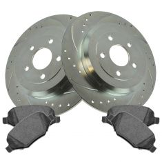 11-15 Ford edge Rear Performance Brake Rotor & Ceramic Pad Set