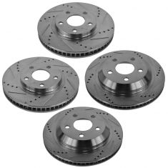 98-02 Camaro 02-98 Firebird Front & Rear Performace Rotor Set