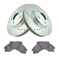 Front Performance Rotor & Semi Metallic Brake Kit for 07-09 Equinox, 07-09 Torrent,