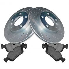 Front Performance Rotor & Premium Posi Ceramic  Brake Kit for 92-98 318i, 94-97 318ic, 93-97 318is