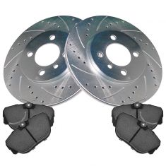 Front Performance Rotor & Premium Posi Ceramic Brake Kit for 91 318i, 91-92 318ic,84-87 325e