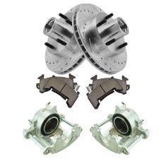 83-97 Blazer, S10 w/2WD NEW Front Caliper, Ceramic Pad & Peformance Rotor Kit