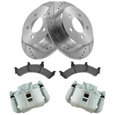 95-01 Explorer; 02 Ranger; 97-01 Mountaineer Front Posi Ceramic Pad, Performance Rotor & Caliper Kit