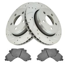 07-11 Nitro; 07-12 Liberty Front Posi Metallic Pad & Performance Rotor Kit
